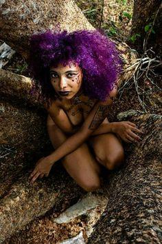 "FEATURE: ""Floresta Negra"" (Black Forest) - Photographer Martin Shankar's Nature Inspired Photo Series More images —> http://www.afropunk.com/profiles/blogs/feature-floresta-negra-black-forest-photographer-martin-shankar-s Model: Alana Priscila"