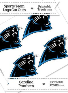 Large Carolina Panthers Logo Cut Out from PrintableTreats ...