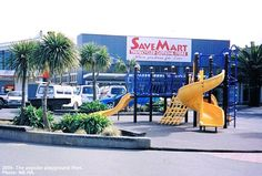 Old Playground, Save Mart, New Brighton, Christchurch, New Zealand