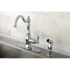American Classic Chrome Single-handle Kitchen Faucet - Overstock™ Shopping - Great Deals on Kitchen Faucets
