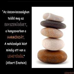 Albert Einstein idézete a lehetőségekről. A kép forrása: Lélekerősítő # Facebook