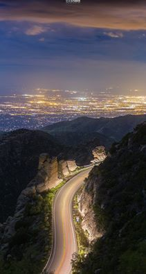 Mt. Lemmon Highway in Tucson, Arizona                                                                                                                                                                                 More