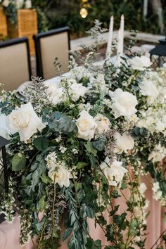 Bridal Table from The Wedding of Stephanie & Sing Young Bridal Table, Singing, Table Decorations, Wedding, Furniture, Home Decor, Valentines Day Weddings, Decoration Home, Room Decor