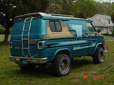 Four Wheel Drive Van Campers | ... original Chevy 1 ton 4 Wheel drive Custom Rally 30 van (found as is