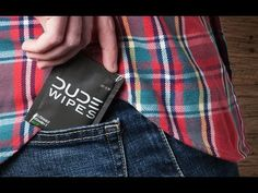 Dude Wipes are the first wet wipes made specifically for men. With a neutral scent, each oversized, biodegradable wipe can be used to clean up your face, hands, armpits…anywhere.