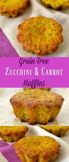 This is a Grain Free Zucchini And Carrot Muffins recipe. Healthy ingredients, nutritious vegetables, and about 30 minutes is all it takes for a delicious treat your whole family will enjoy. These m…