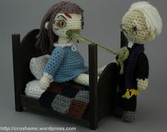 The Exorcist Crochet...was going to put this on my Funny board.  But can't believe someone spent so much time on this....FAIL