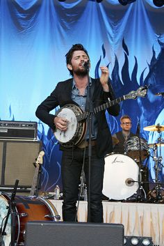 beards and banjos.- The Avett Brothers