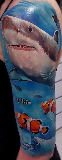Tattoo-Foto: Shark
