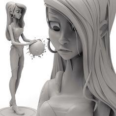Chris Wright sculpt based on a design by Cory Loftis.  Fan-flippin-tastic work.