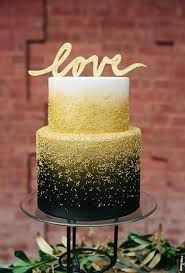 Image result for black and gold cake