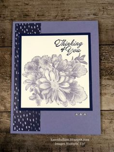 Here's a very simple yet classic layout for you today. If you are new to card making, or if you want to make some quick cards, this one...