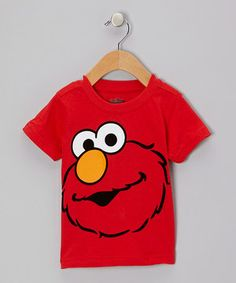 This Red Elmo Face Tee - Infant by Sesame Street is perfect! #zulilyfinds