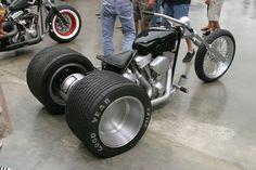 Built for the Biker Build Off television show. Custom Trikes, Custom Choppers, Custom Harleys, Custom Moped, Vw Trike, Chopper Motorcycle, Motorcycle Parts, Hot Rods, Cb 500