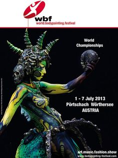 The World Bodypainting Festival in Austria