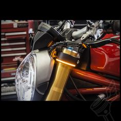 TruWrapz 360 LED Fork Lights | Motorcycle LED Accent Light