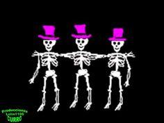 Canción Infantil.El twist del esqueleto.