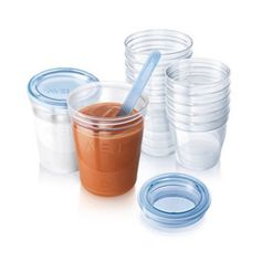 Tesco direct: Philips Avent Baby Food Storage Cups 180/240 ml - Pack of 20