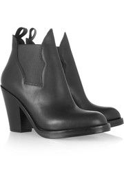 Acne StudiosStar leather ankle boots