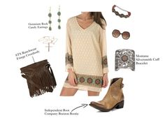 Our Favorite Way to Wear Ankle Boots: Country Boho