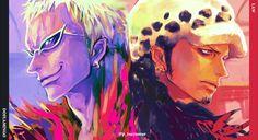 Anime One Piece Doflamingo Wallpaper One Piece World, One Piece Ace, Doflamingo Wallpaper, Anime One Piece, Trafalgar Law, One Piece Images, Dark Fantasy Art, Animation, Fan Art