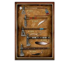 American Replica Pipe Tomahawk Wall Decor Collection