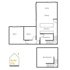 Little Black Barn House, Build me, Eco home, building nz, tiny home, plans