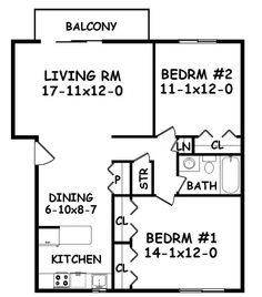 500 Sq FT Studio Apartment One Bedroom 550 Sq Ft Two Bedroom 750
