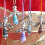How to Make Paper Bead Angels