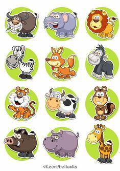 Illustration about Vector illustration of Animals set Cartoon. Illustration of giraffe, cute, squirrel - 41107706 Kids Vector, Vector Art, Tiger Vector, Zoo Animals, Cute Animals, Wild Animals, Cartoon Drawings, Cute Cartoon, Cartoon Photo