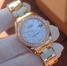 #Diamond #Rolex #watch | Http://stores.ebay.com/Fashionista-Princess-Jewelry