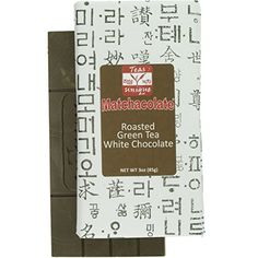 Matchacolate Roasted Green Tea Matcha White Chocolate Bar, 3 Ounce (2 Pack) -- You can get additional details at the image link.