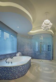 Beauty and Luxury Ocean-Inspired Bathroom