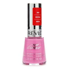 """Revlon """"Top Speed"""" in Cupid.  My all-time favorite nail color.  It's pink, obviously, but with shades of purple that keeps it feminine instead of girly."""