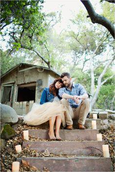 Le Magnifique: Orange Grove Engagement Session by Laura Goldenberger Photography