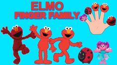 (Elmo) Finger Family  Nursery Rhymes  KidsF  fingerfamilyheroes