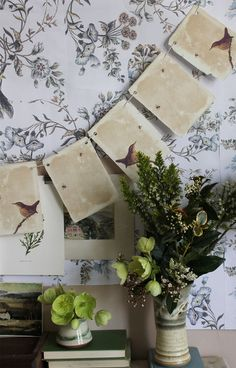 Wrens and Bees - Bunting by Kettle of Fish