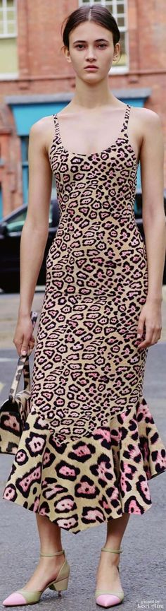 Givenchy R-16: leopard dress.