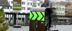 Koffie drive-in voor fietsers