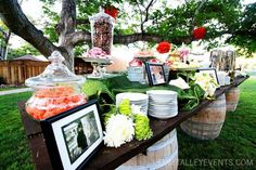 Candy table, wedding candy table