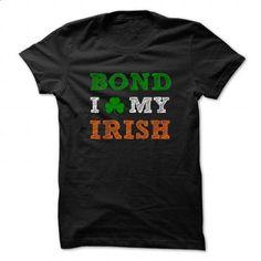 BOND STPATRICK DAY - 0399 Cool Name Shirt ! - custom made shirts #shirt #T-Shirts
