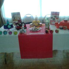Table Display by Tedra Gordan Very Beautiful!!!