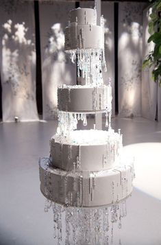 Swarovski crystal Cake from Sex and the City2 | Cake by Ron Ben-Israel Cakes