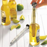 Sur La Table - Search Results  keep cold beer ice cold while you sip!!!