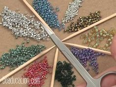 Introduction to Seed Bead - Beaducation.com - #Seed #Bead #Tutorials