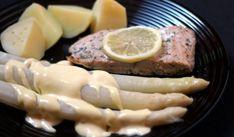 Spargel und Wildlachs aus dem Ofen mit Kartoffeln und Sauce Hollandaise! – Preppie and me