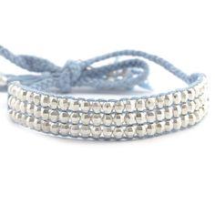 Chan Luu - Cashmere Blue Mix Tie Bracelet, $110.00 (http://www.chanluu.com/bracelets/cashmere-blue-mix-tie-bracelet-/)