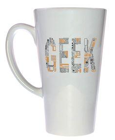 Geek Circuit Board Coffee or Tea Mug, Latte Size
