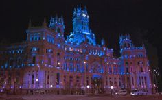 light it up blue in paris - Google Search