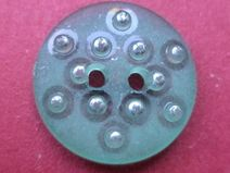 14 kleine KNÖPFE hellblau 16mm (4168) Blusenknöpfe